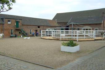Anlage Gut Rodderhof, Innenhof