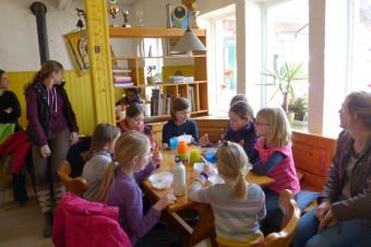 Anlage Gut Rodderhof, Pause in der Reiterstube